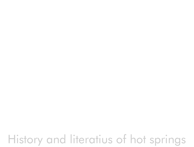 刻 History and literatius of hot springs